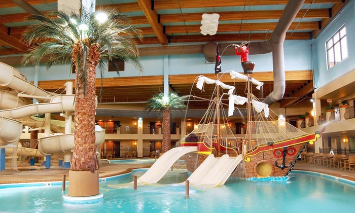 Ramada Tropics Resort & Conference Center - Des Moines, Iowa: One-Night Stay Sunday–Thursday with Water-Park Passes at Ramada Tropics Resort & Conference Center in Des Moines, IA