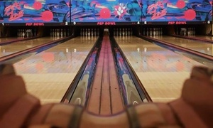PEP Bowl: $35 for Two Hours of BYOB Bowling and Shoe Rental for Up to Eight at PEP Bowl ($80 Value)