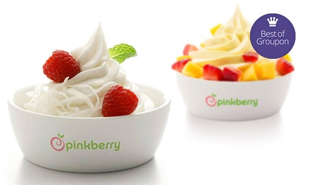 $5 for $10 Worth of Frozen Yogurt  at Pinkberry