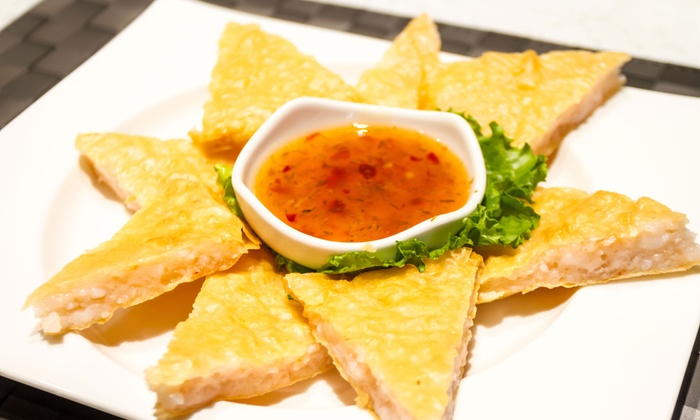 Thai One Asian Fusion - Kitsilano: Asian Fusion Cuisine for Two or Four or More at Thai One Asian Fusion (50% Off)