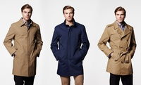 GROUPON: London Fog Men's Trench Coat or Raincoat London Fog Men's Trench Coat or Raincoat