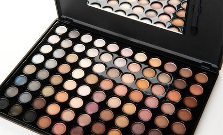Beauté Basics Warm 88-Color Eye-Shadow Palette wit...