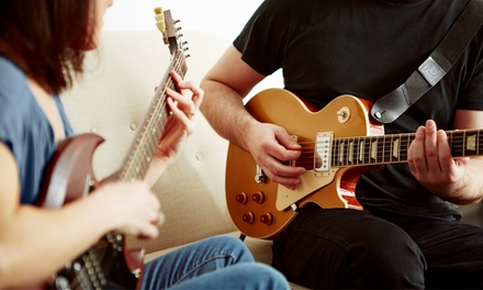 One or Two 45Minute Guitar Lessons at Tony's Rock Guitar Studio (Up to 50% Off)