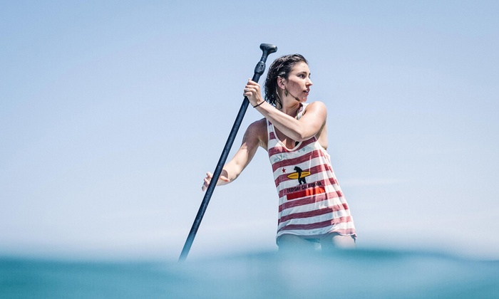 Everyday California - La Jolla Shores: Standup Paddleboard Rental, 4-Hour Soft-Top Surfboard Rental, or Both from Everyday California (Up to 60% Off)