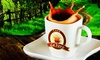 LaVero Cafe - Multiple Locations: $11 for Four Groupons, Each Good for $5 Worth of Organic Coffee at LaVero Cafe ($20 Total Value)