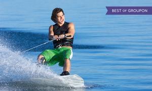 Loisirs et Sensations: Initiation au wake board ou au ski nautique pour 1 ou 2 personnes dès 25 € avec Loisirs et Sensations