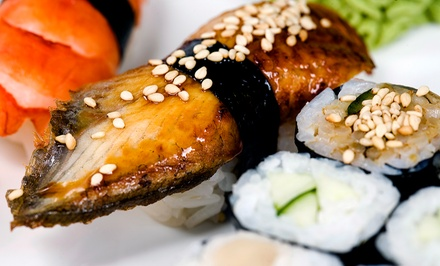 Sushi, Japanese Cuisine, and Drinks at Tsunami Sushi (Up to 47% Off). Three Options Available.