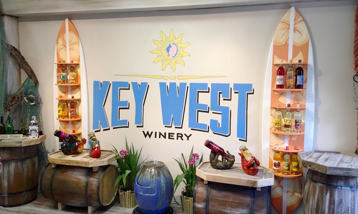 Key West Winery - Key West Winery: Wine Tasting for Two or Four with Souvenir Glasses and Bottle of Wine at Key West Winery (Up to 34% Off)