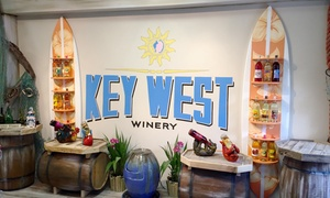 Key West Winery: Wine Tasting for Two or Four with Souvenir Glasses and Bottle of Wine at Key West Winery (Up to 34% Off)