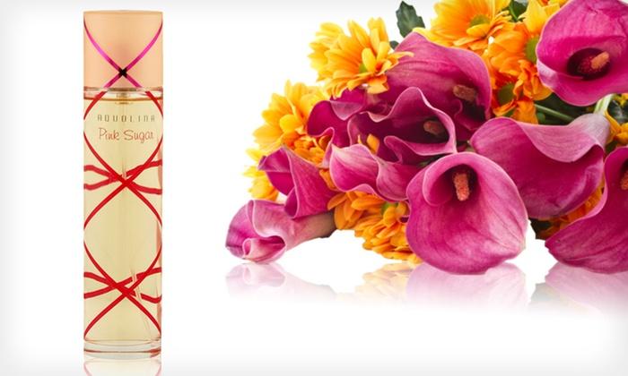 Aquolina Pink Sugar Eau de Toilette: $13.99 for Aquolina Pink Sugar 1.7 Fl. Oz. Eau de Toilette Natural Spray ($45 List Price)
