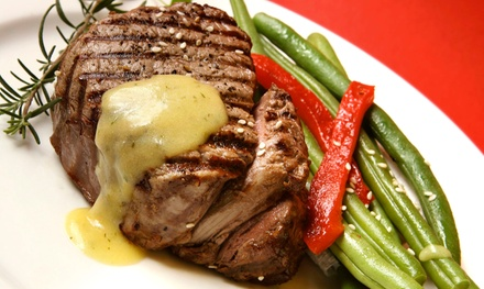 American Dinner and Drinks for Two or Four at Jazz 727 (Up to 46% Off)
