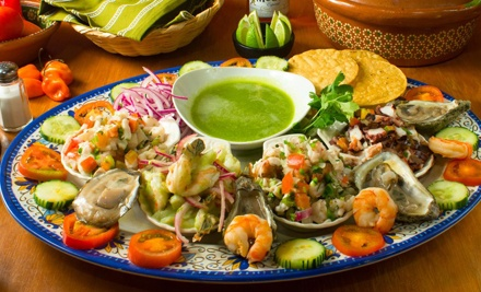 Mexican Cuisine at Las Sirenas (Up to 56% Off). Three Options Available.