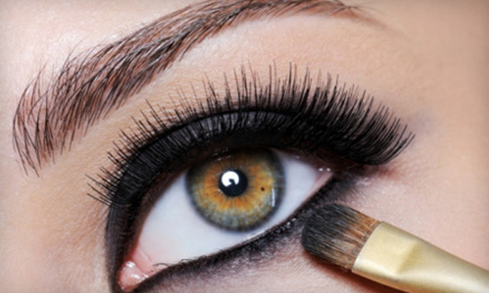 Le Salon Nowel - Astoria: Permanent Eyeliner for Top, Bottom, or Both Lash Lines, or Both Brows at Le Salon Nowel (Up to 57% Off)