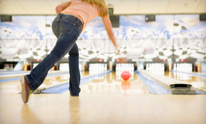 Bowling Proprietors' Association of North Jersey - Multiple Locations: $30 for Bowling with Shoe Rental for Up to Five at Bowling Proprietors' Association of North Jersey (Up to $77.50 Value)