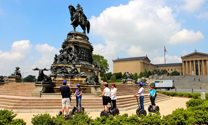 Philadelphia Segway Tours by Wheel Fun Rentals - Center City East: Three-Hour Full City Segway Tour or Hour and a Half Old City Historic Segway Tour (Half Off)