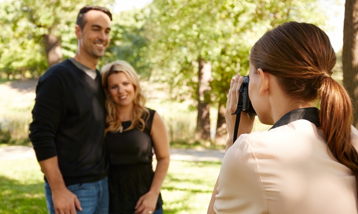 LGS Photography - Seattle: 75-Minute Outdoor Photo Shoot with Digital Images from LGS Photography (46% Off)