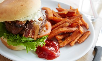 image for Food and Drink for Two or Four at Spring Street Pub & Grill (Up to 30% Off). Two Options Available.