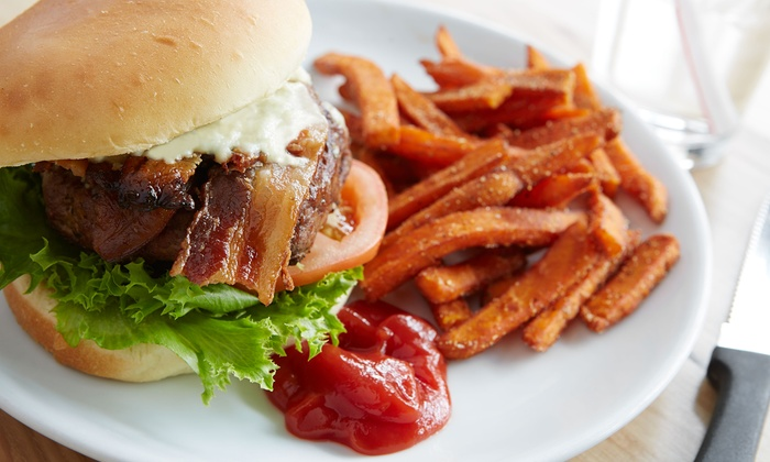 Mallie's Sports Grill - Southgate: Pub Food at Mallie's Sports Grill (Up to 40% Off). Two Options Available.
