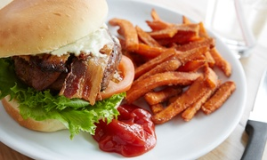 Mallie's Sports Grill: Pub Food at Mallie's Sports Grill (Up to 40% Off). Two Options Available.