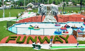 Family Funway: $22 for Two Three-Ride Ticket Bracelets at Family Funway ($37.90 Value)