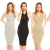 Women's Ribbed Fitted Dress