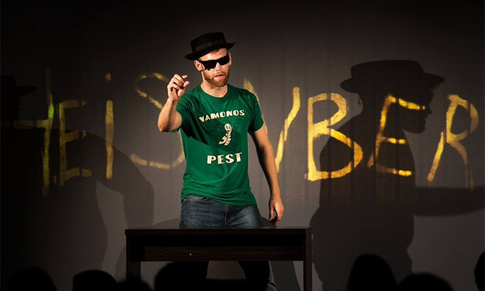 """One Man Breaking Bad"" - Victory Theatre: ""One Man Breaking Bad: The Unauthorized Parody"" at Victory Theatre on Tuesday, October 13 (Up to 41% Off)"