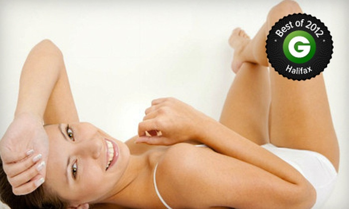 Aurora Aesthetics - South End: C$119 for Five Laser Hair-Removal Treatments on a Small Area at Aurora Aesthetics (Up to C$396 Value)