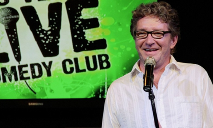 Las Vegas Live Comedy Club - V Theater: Las Vegas Live Comedy Club Show for One or Two at V Theater, Nightly at 9 p.m. (Up to 76% Off)