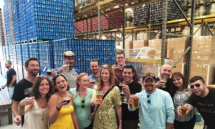Fresh Tap Tours: Brewery Tour for One, Two, or Four from Fresh Tap Tours (Up to 47% Off)