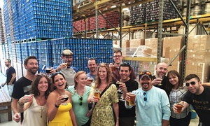 Fresh Tap Tours: Brewery Tour for One, Two, or Four from Fresh Tap Tours (Up to 56% Off)