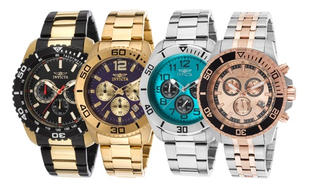 Invicta Specialty and Pro Diver Men's Watches