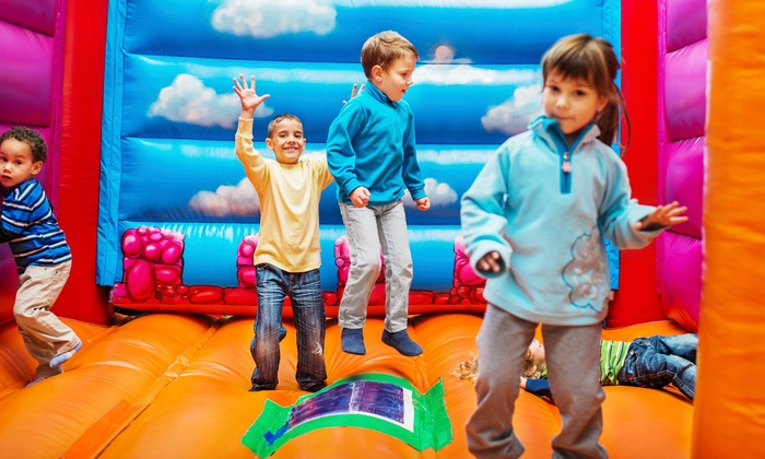 BounceU Clarksburg - Clarksburg: Five Open-Bounce Sessions or Party Package at BounceU Clarksburg (Up to 56% Off)