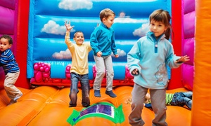 BounceU Clarksburg: Five Open-Bounce Sessions or Party Package at BounceU Clarksburg (Up to 56% Off)