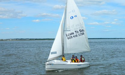 image for $58 for Two-Hour Introduction to <strong>Sailing</strong> Class at Ocean City <strong>Sailing</strong> Foundation ($120 Value)