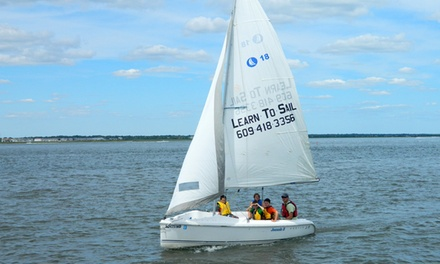 $62 for a Two-Hour Introduction to Sailing Lesson at Ocean City Sailing Foundation ($120 Value)