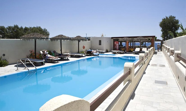 Greece: Santorini Beachside Hotel 2
