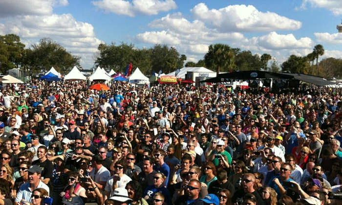 RP Funding Orlando Chili Cook-off - Festival Park - Orlando: $15 for Two General Admissions to the RP Funding Orlando Chili Cook-Off on Saturday, March 7 ($30 Value)