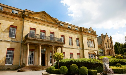 Spa Access with Vitamin Glow Facial and Glass of Prosecco at Shrigley Hall Hotel