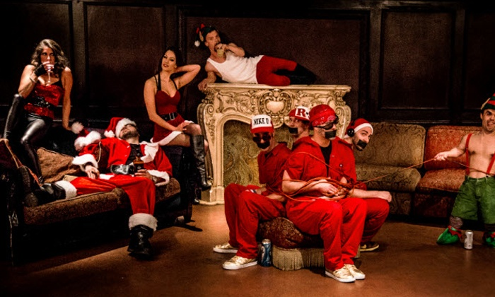 Holiday Hangover II Featuring Rhymin' N Stealin' - The Original Beastie Boys Tribute Band - House of Blues Dallas: Holiday Hangover II Featuring Rhymin' N Stealin' at House of Blues Dallas on Friday, December 27 (Up to $26.33 Value)