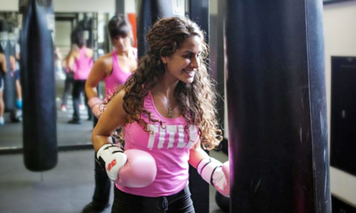 Title Boxing Club Tulsa - South Tulsa: Two Weeks of Unlimited Classes or One-Month Membership to Title Boxing Club (51% Off)