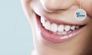 Dr Raffaele Michele Calvi: Visita odontoiatrica con pulizia denti, sbiancamento LED e otturazione (sconto fino a 84%)