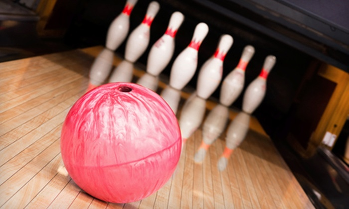 Burr Oak Bowl, Oak Forest Bowl, and Mardi Gras Lanes - Multiple Locations: Weekday or Weekend Pizza-and-Bowling Package at Burr Oak Bowl, Oak Forest Bowl, or Mardi Gras Lanes (Up to 72% Off)