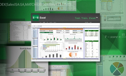 Accredited Online Microsoft Excel Training Course and Test for 1 or 10 People from Excel With Business (Up to 93% Off)