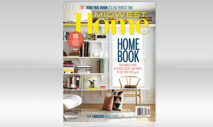 Midwest Home Magazine 14 For A Three Year Subscription To Midwest Home Magazine