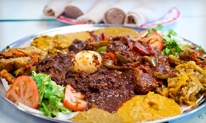 Habesha Restaurant - Woodside: Ethiopian Cuisine at Habesha Restaurant (Half Off). Two Options Available.