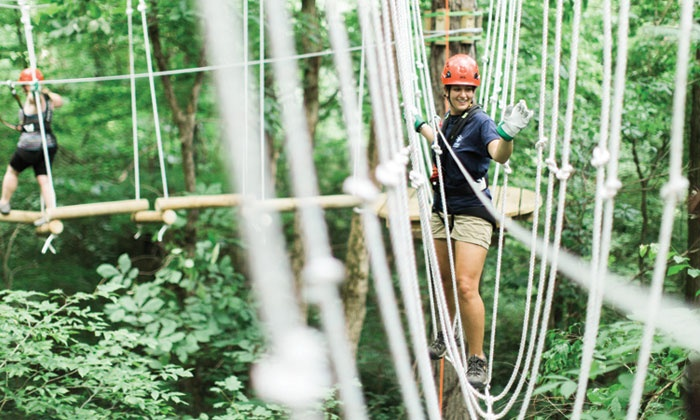 Navitat Knoxville - Navitat Knoxville: Zipline Adventure Park Admission for One, Two, or Four at Navitat Knoxville (Up to 49% Off)
