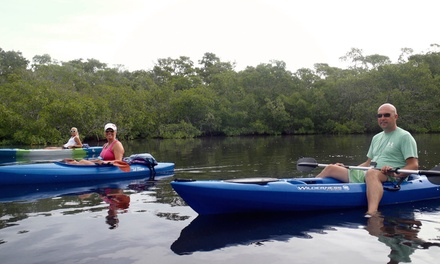 One-Hour Single or Double Kayak Rental, or One-Hour Paddleboard Rental from Carmen's Kayaks (Up to 51% Off)