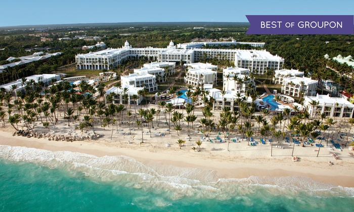 All-Incls. Riu Palace Bavaro Trip w/ Air from Vacation Express