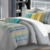 8-Piece Embroidered Comforter Set