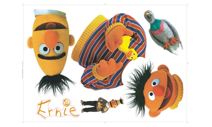 Bert And Ernie Wall Decals Groupon Goods
